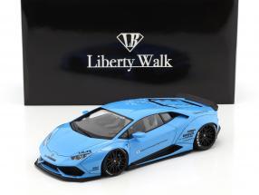 Lamborghini Huracan Liberty Walk LB-Works sky blue metallic 1:18 AUTOart