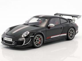 Porsche 911 (997) GT3 RS 4.0 Year 2011 black / silver 1:18 AUTOart