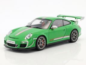 Porsche 911 (997) GT3 RS 4.0 Year 2011 green 1:18 AUTOart