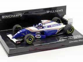 David Coulthard Williams FW16 #2 GP Debut Spanien GP Formel 1 1994 1:43 Minichamps