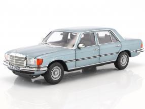 Mercedes-Benz 450 SEL 6.9 year 1976 blue gray metallic 1:18 Norev