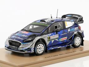 Ford Fiesta WRC #2 Winner Rally Italien 2017 Tänak, Järveoja 1:43 Spark