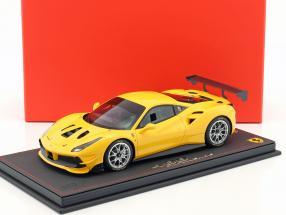 Ferrari 488 Challenge Baujahr 2016 modena gelb 1:18 BBR