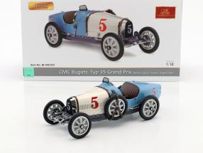 Bugatti Typ 35 Grand Prix #5 Nation Colour Project Argentinien 1:18 CMC