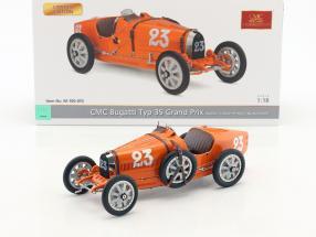 Bugatti Typ 35 Grand Prix #23 Nation Colour Project Niederlande 1:18 CMC