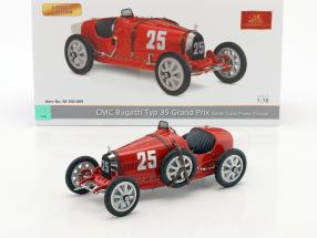 Bugatti Typ 35 Grand Prix #25 Nation Colour Project Portugal 1:18 CMC