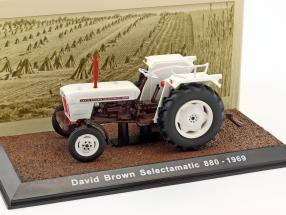 David Brown Selectamatic 880 Traktor Baujahr 1969 weiß 1:32 Atlas