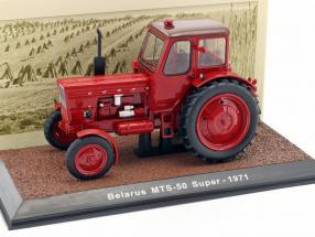 Belarus MTS-50 Super Traktor Baujahr 1971 rot 1:32 Atlas