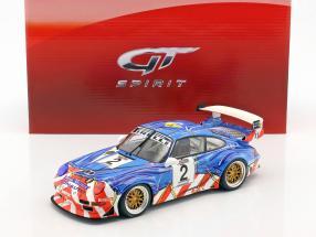 Porsche 911 (993) GT2 #2 2nd French GT Championship 1997 Jarier, Lafon 1:18 GT-Spirit
