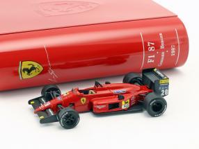 Gerhard Berger Ferrari F1/87 #28 GP Japan Formel 1 1987 1:43 Ixo la Storia