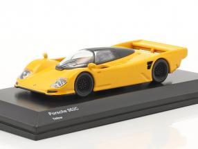 Porsche 962C yellow 1:64 Kyosho