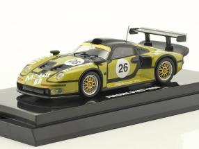 Porsche 911 GT1 #26 Pre-Qualifications 24h LeMans 1996 1:64 Kyosho