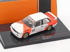 BMW E30 M3 #43 WTCC 1987 Sala, Grouillard 1:43 Ixo