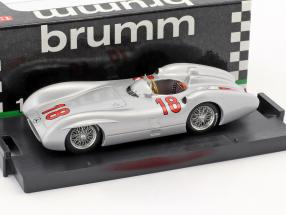 Juan Manuel Fangio Mercedes W196C #18 Winner Frankreich GP Weltmeister Formel 1 1954 1:43 Brumm