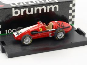 Kurt Adolff Ferrari 500 F2 #34 Germany GP Nürburgring formula 1 1953 1:43 Brumm
