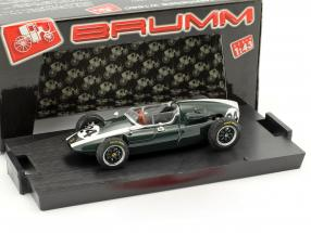Jack Brabham Cooper T51 #24 Winner Monaco GP World Champion Formel 1 1959 1:43 Brumm