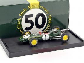 Jim Clark Lotus 25 #1 Winner Belgien GP World Champion Formel 1 1963 1:43 Brumm