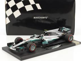 Valtteri Bottas Mercedes F1 W08 EQ Power+ #77 1st Win Russland GP  F1 2017 1:18 Minichamps
