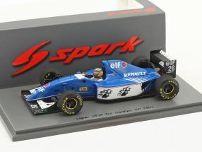 Mark Blundell Ligier JS39 #26 3rd Deutschland GP Formel 1 1993 1:43 Spark