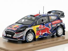 Ford Fiesta WRC #1 3rd rally Great Britain 2017 Ogier, Ingrassia 1:43 Spark