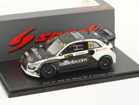 Audi S1 EKS RX #15 World RX of Portugal 2017 R. Nitiss 1:43 Spark