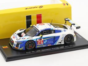 Audi R8 LMS #26 24h Spa 2017 Sainteloc Racing 1:43 Spark