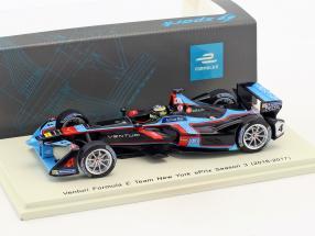 T. Dillmann Venturi VM200-FE-02 #4 New York ePrix formula E 2016/2017 1:43 Spark