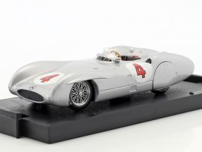 Karl Kling Mercedes W196C #4 Test Avus Formel 1 1954 1:43 Brumm