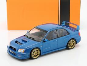 Subaru Impreza WRX STi Tune S9 specs Baujahr 2003 blau metallic 1:18 Ixo