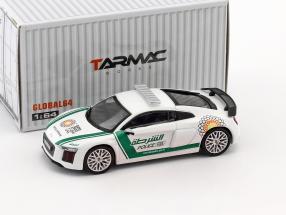 Audi R8 V10 Plus Dubai Police 1:64 Tarmac Works