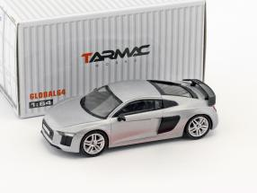 Audi R8 V10 Plus matt silber 1:64 Tarmac Works