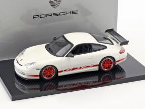Porsche 911 (996) GT3 RS White / red 1:43 Minichamps 2. choice