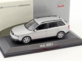 Audi A4 Avant IAA 2001 silber metallic 1:43 Minichamps
