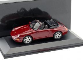 Porsche 911 Cabriolet Baujahr 1994 arena rot 1:43 Minichamps