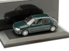 Peugeot 306 2-Türer Baujahr 1995 grün metallic 1:43 Minichamps