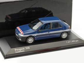 Peugeot 306 Gendarmerie 1:43 Minichamps