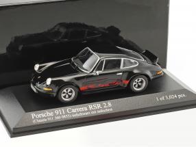 Porsche 911 Carrera RSR 2.8 schwarz / rot 1:43 Minichamps