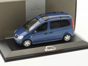 Mercedes-Benz Vaneo jaspis blau metallic 1:43 Minichamps