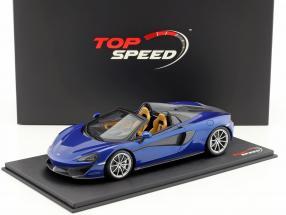 McLaren 570S Spider antares blau 1:18 TrueScale