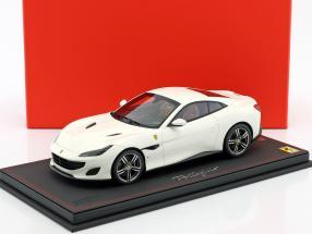 Ferrari Portofino Baujahr 2017 weiß 1:18 BBR