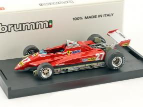 Gilles Villeneuve Ferrari 162C2 #27 Brasilien GP Formel 1 1982 1:43 Brumm