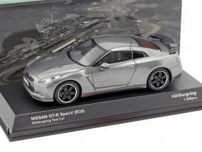 Nissan GT-R SpecV (R35) Nürburgring Testcar gray metallic 1:43 Kyosho