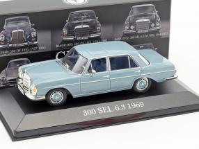 Mercedes-Benz 300 SEL 6.3 (W109) Baujahr 1968-1972 blau 1:43 Atlas