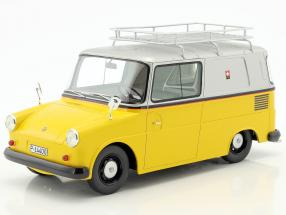 Volkswagen VW Fridolin PTT yellow / silver 1:18 Schuco