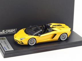 Lamborghini Aventador S Roadster gelb metallic 1:43 LookSmart