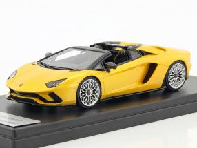 Lamborghini Aventador S Roadster yellow metallic 1:43 LookSmart