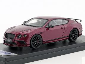 Bentley Continental Supersports purple metallic 1:43 LookSmart