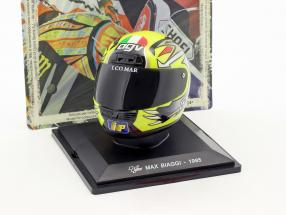 Max Biaggi World Champion 250 cm³ 1995 helmet 1:5 Altaya