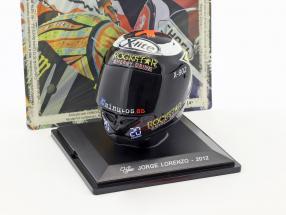 Jorge Lorenzo World Champion MotoGP 2012 helmet 1:5 Altaya / 2. choice