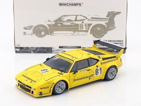 BMW M1 Pro Car E26 #81 DRM Norrisring 1979 Regazzoni 1:18 Minichamps